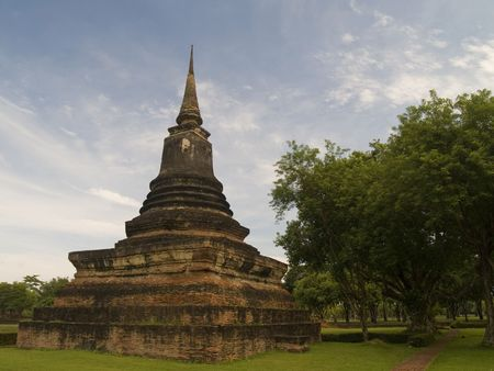 unesco world cultural heritage: Sukhothai Historical Park Thailand a UNESCO world heritage site