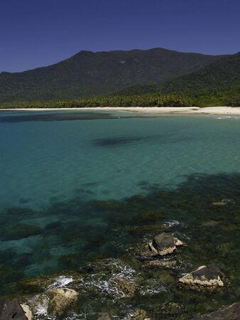 Turquoise water at cape tribulation australia. Banco de Imagens - 2817989