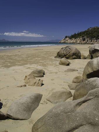 Beach on magnetic island.