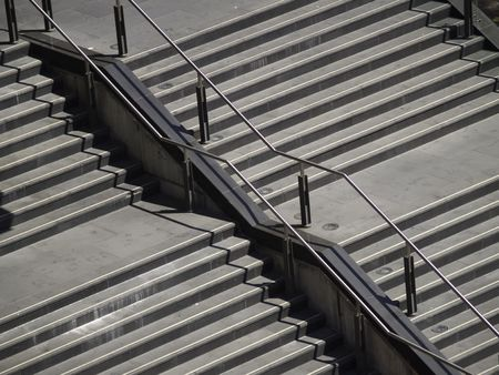 Stairs in Sydney Australia.
