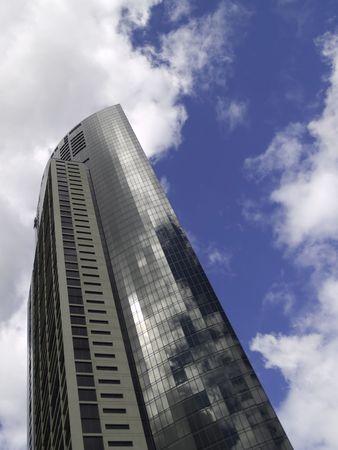 Reflective building in Melbourne Australia.