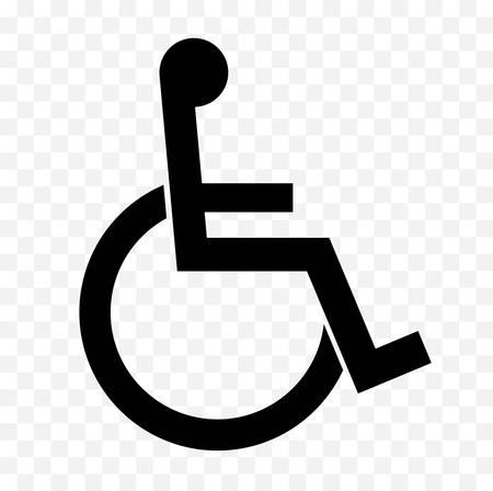 Disabled icon  イラスト・ベクター素材