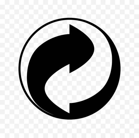 recycle icon symbol Çizim