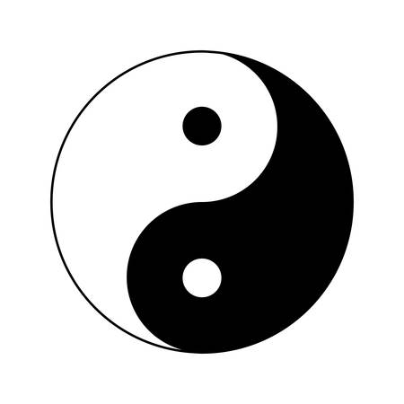 Yin Yang Icon Ying Yang Symbol Royalty Free Cliparts Vectors And