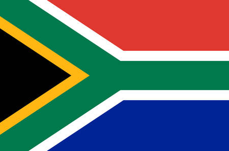 south african national flag, official flag of south africa accurate colors, true color