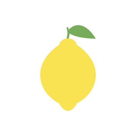 Lemon simple icon design.