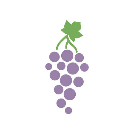 Grape  simple icon design.