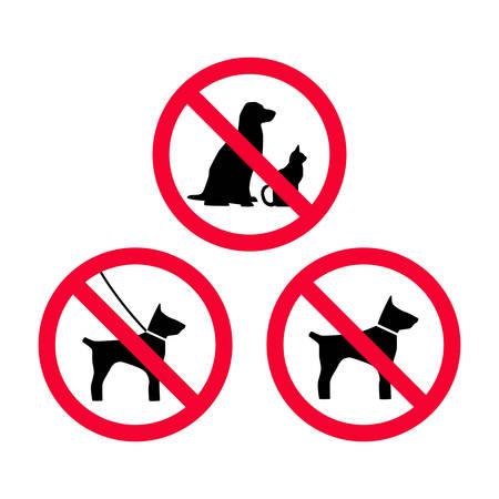 No se permiten perros, mascotas, perros con correa, no hay señal de prohibición roja de perros libres. No se admiten animales.