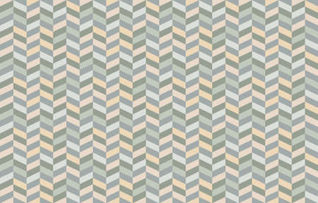 Zigzag geometric seamless pattern. Pattern design in pastel colors for paper or fabric.