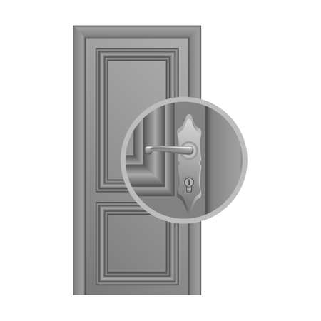 hole: Door lock replacement