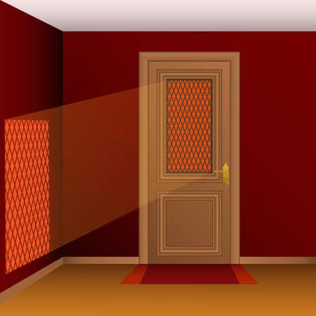 Vector closed door