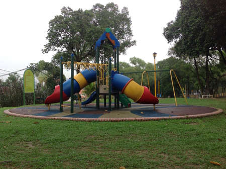 midst: Children playground in the midst of greens