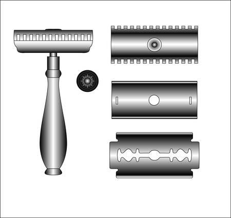 shaver: old shaver - details