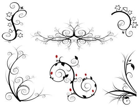 ensemble d'�l�ments de conception Illustration