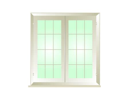 window Stock Vector - 5268383