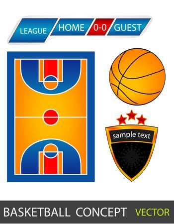 basketball court: Sport fields