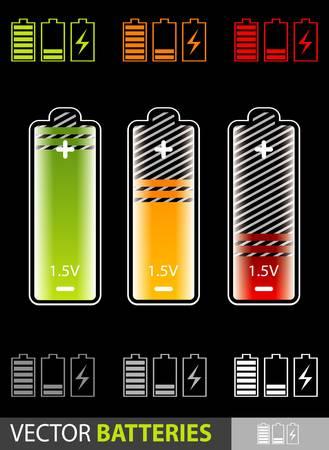 low battery:  batteries