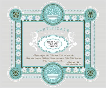 Certificate template Imagens - 10437707