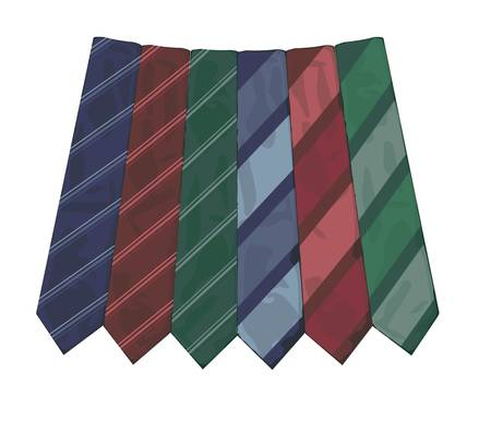 ironed: Neck ties collection