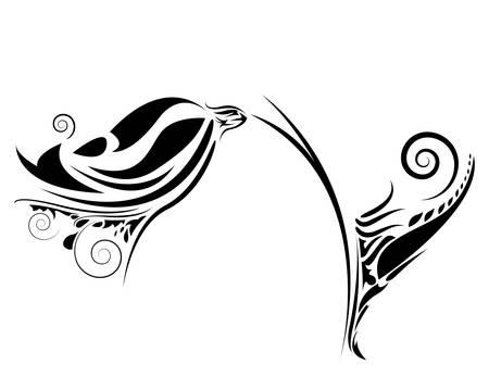 Ornement floral Illustration