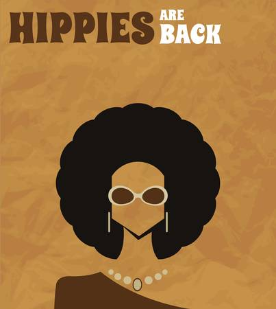 70s: Afro woman