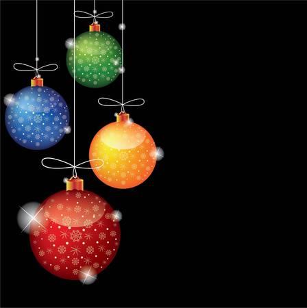 Christmas background Imagens - 16313644
