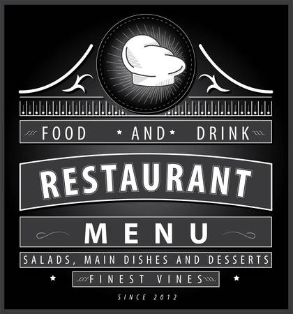 diner: Restaurant menu design