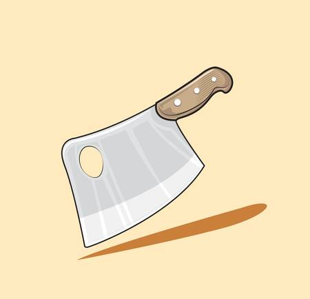 meat cleaver Stock Vector - 16848361
