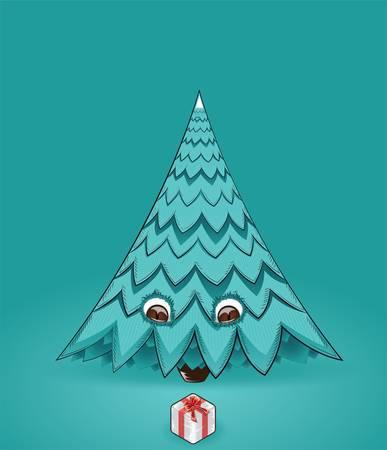 Christmas tree  Ilustração