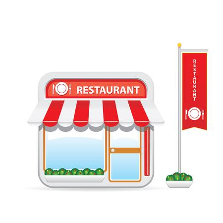 Restaurant icon Stock Vector - 17543113