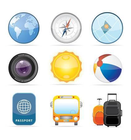 Travel Icon Set 2