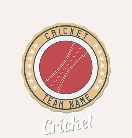 Cricket club emblem