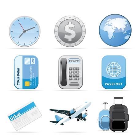 Travel Icon Set Ilustração
