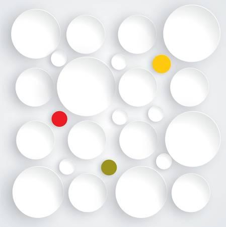 Abstract geometrical design Ilustração