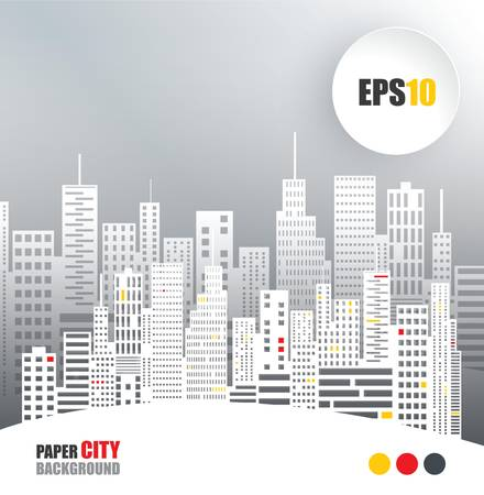 Abstract Paper City