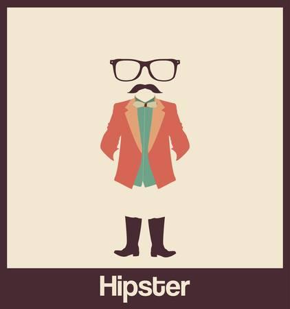Hipsters accessoiriser Illustration