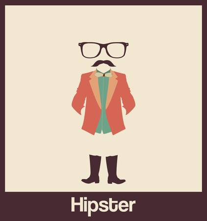 accessorize: Hipsters accessorize Illustration