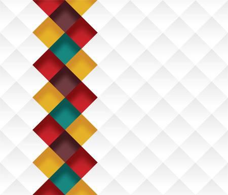 Colorful background pattern Ilustração