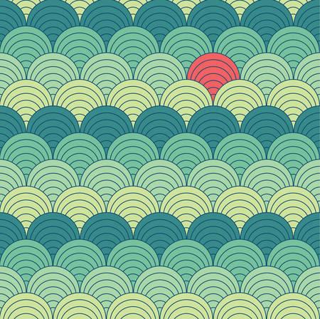 Abstract seamless pattern, background  Ilustração