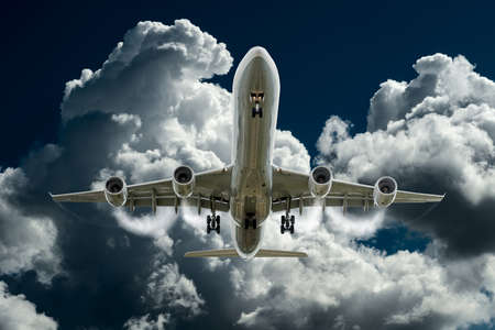 composing: landing airplane composing