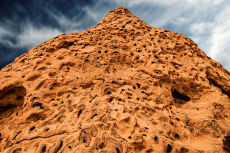 activ: close up of termite hill west australia Stock Photo