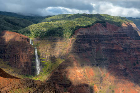kauai: waimea canyon kauai hawaii Stock Photo