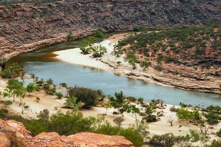 west river: murchison river west australia