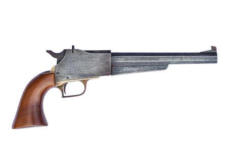 loader: black powder muzzle loader pistol