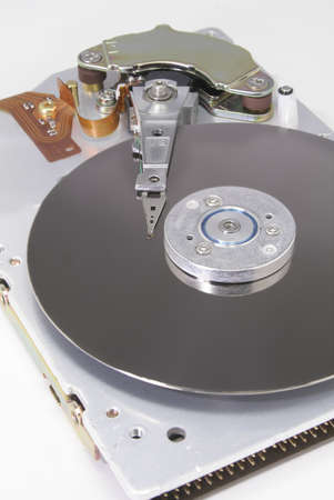 gig: Images of a striped down hard drive (only 2 Gig, but the parts are bigger!)