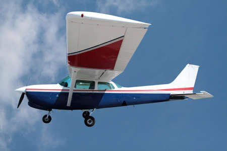 Private plane against a sky Stock Photo - 8004567
