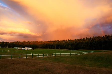 Saskatchewan Valley in the evening