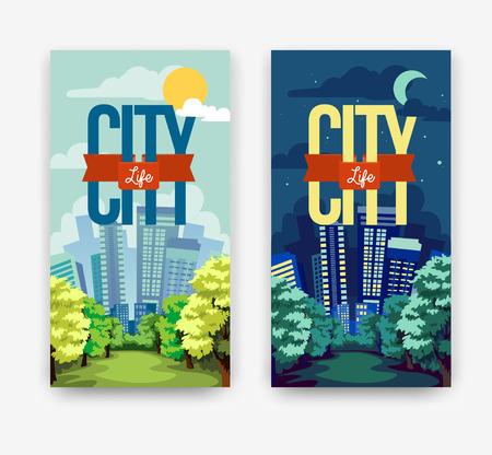 cityscape  Day & Night
