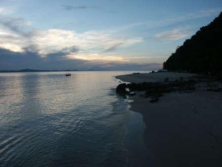 pulau: Beach at Pulau Kapas
