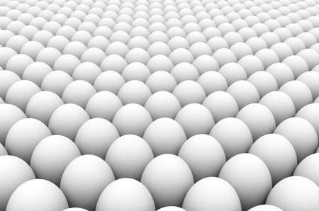 brainwash: Illustration - 3D image of the eggs group